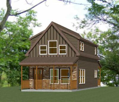 16x40 House -- 1,193 Sq Ft -- Pdf Floor Plan -- Model 1b Klanten Eerst