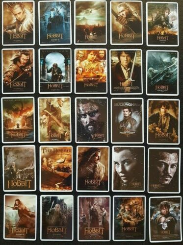 Hobbit Stickers 25PC Skate Laptop PC Car Decal Cult Movie Poster Style LOTR Ring