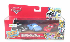 DISNEY CARS Radiator Springs Escape SHERIFF SALLY LIGHTNING McQUEEN diecast toys