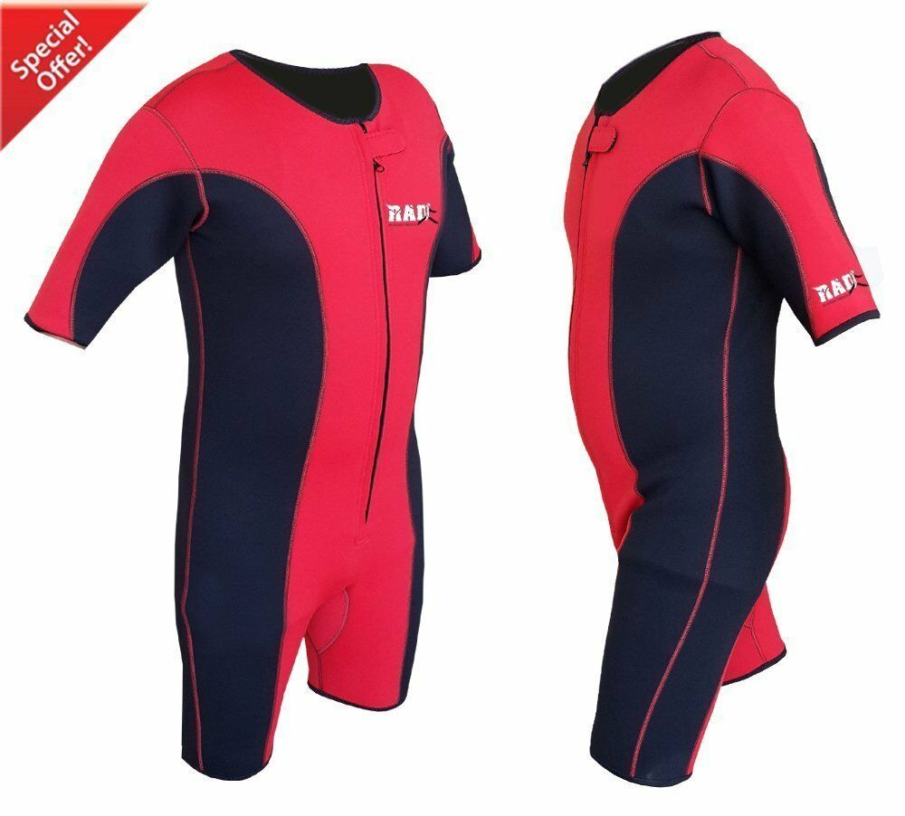 Heavy Duty RAD Sauna Sweat Suit Gym Boxing MMA Weight Loss Slimming Shorts UFC