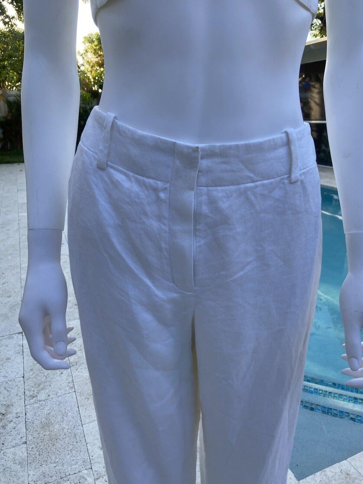 Vintage Hermes Linen Suit 36 - image 3