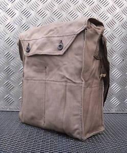 Genuine-Czech-Army-Gas-Bag-Shoulder-Messenger-Side-Bag-Grade-2