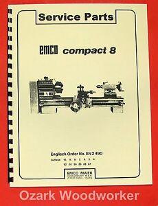 EMCO-Compact-8-Metal-Lathe-Parts-Manual-0294