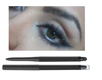 Retractable Black Eye Pencil Definer Professional Eye Liner Khol Smudger Liner