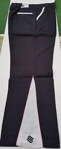 Respectueux 2 Paires Sous Soixante-dix Pantalon De Golf, Noir 34 W 29 L & Bleu 34 W 30 L, Parti, Stag Do?-afficher Le Titre D'origine