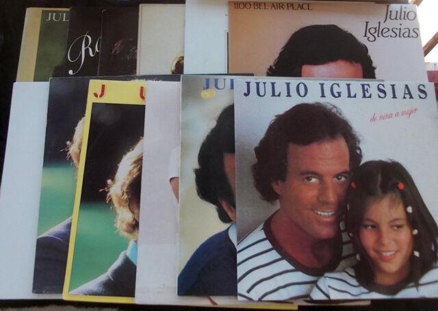 JULIO IGLESIAS 12 LP LOT Instant Collection!