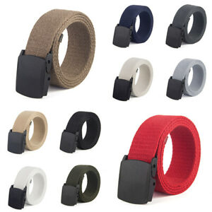 Belt-Leisure-Outdoor-Men-Military-Gentleman-Waist-Canvas-Tactical-Breathable