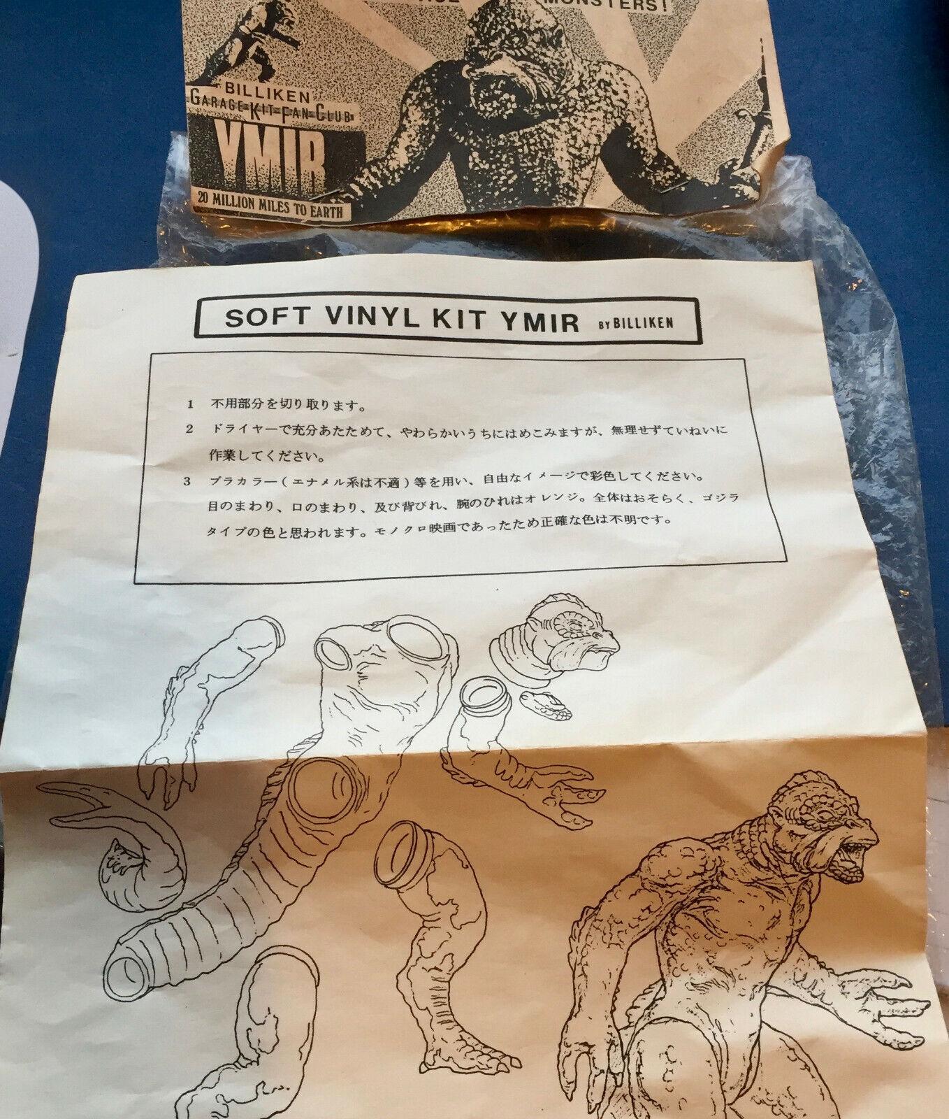 Harryhausen Ymir Billiken Vintage Weich Vinyl Model Bausatz Nummeriert Sofubi