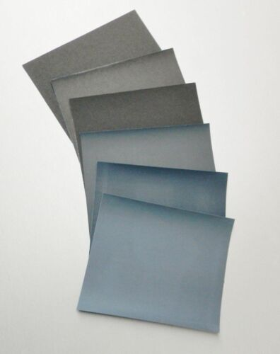 "Matador Abrasive Wet or Dry Sandpaper 10 Sheets 2000 Grit 9/""x11/"" Silicon Carbide"