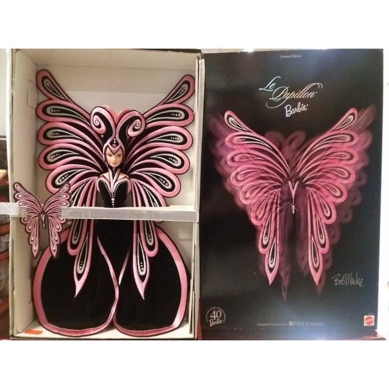 Vous êtes en en êtes bonne santé pour la nouvelle année. Barbie Limited Edition Le Papillon 1999 Mattel 4317de