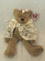 TY BEANIE BABIES ATTIC TREASURES COLLECTIBLE 1993 JOINTED EVE BEAR