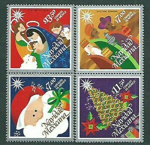 Mexico Mail 2014 Yvert 2889/92 MNH Navidad