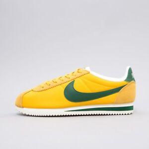 separation shoes da97c 6f545 Image is loading Nike-Classic-Cortez-Nylon-Premium-Oregon-Maze-Green-