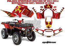 AMR Racing DECORO GRAPHIC KIT ATV POLARIS SPORTSMAN modelli scaricarle B