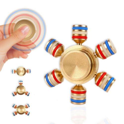 Bangers doigt Spinner main Focus Ultimate SPIN ACIER EDC portant Stress Jouets