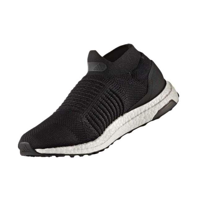Hombre Adidas ultra impulso laceless Core Negro Blanco s80770 US 9 eBay
