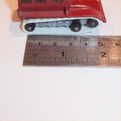 Matchbox Lesney 35 b Snow Trak Trac pair of replacement White Tracks Treads