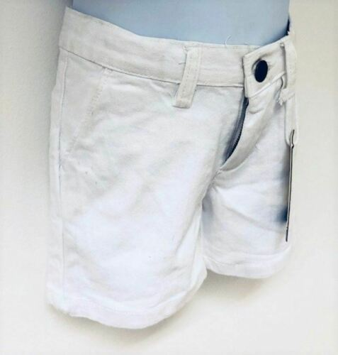 Girls Exchainstore Fashionable Cotton White Denim Shorts Sizes From 2 to 6 years
