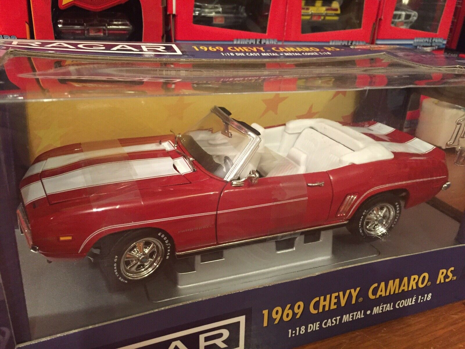 Ertl 1 18 1969 Chevy Camaro RS Congreenible 1 1 1 Of 5000 Item 33780 7ebc51