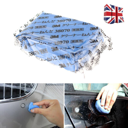 1X 3M Car Truck Clay Wash Easy Cleaning Detailing Bar Sponge Cleaner Magic Tool