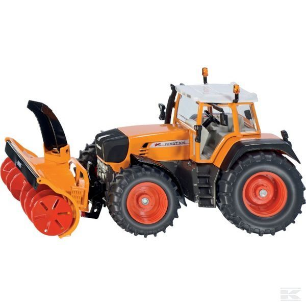 Siku Fendt 930 Vario 1 32 Scale Model Tractor With Snow Plough Collectable