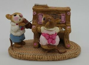 Rare-M-029-Mouse-Duet-Retired-1982-Wee-Forest-Folk-w-older-box