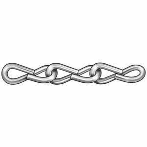 ZORO-SELECT-2ZDE5-Jack-Chain-Single-Zinc-Sz-18-5-Lb-100-Ft