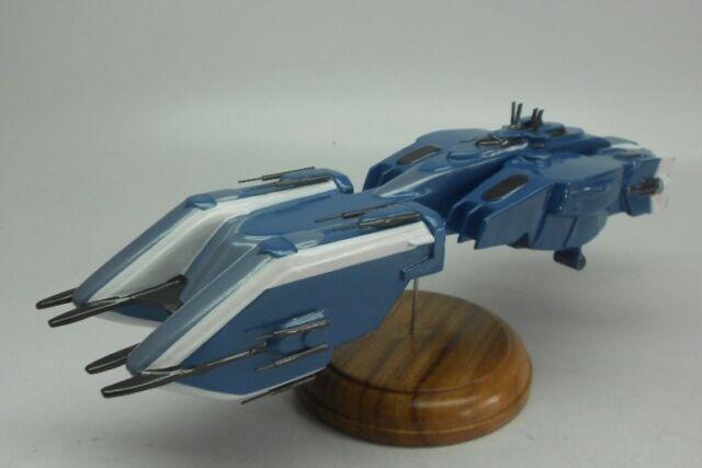 Girty Lue Class Gundam SEED Battleship Mahogany Kiln Dry Wood Model Large New
