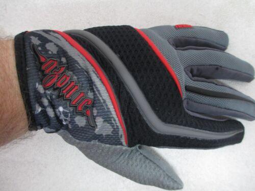 AZONIC Formula MTB gloves blk sz 8 SMALL 1093-008 mountain bike BMX freestyle