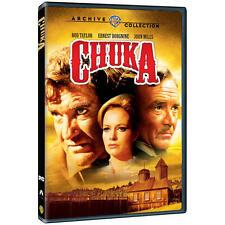 CHUKA DVD Rod Taylor, Ernest Borgnine, John Mills, Luciana Paluzzi, James W