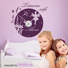 Elf Dream With Clockwork & Desired Name | Wall Sticker