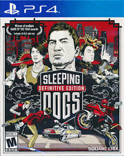 Sleeping Dogs Definitive Edition SONY PS4 GAME BRAND NEW SEALED