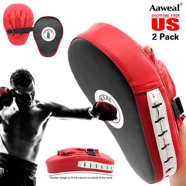 Boxing adult Focus pads MMA Hook /& Jab pad Training Coaching target Punching Pad