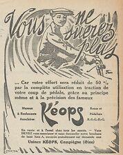 Z8509 Moyeux KEOPS - Pubblicità d'epoca - 1913 Old advertising