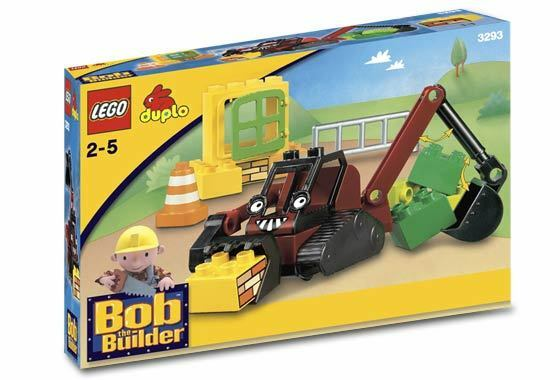 Lego 3293-Duplo  Bob El Constructor-Benny 's Dig Set - 2005-Con Caja