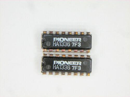 """Ha1336 /""""Original/"""" Pioneer Hitachi 16p Dip Ic De 2 Piezas"""
