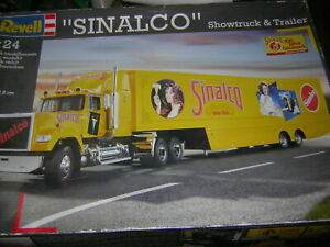 1/24 Sinalco Showtruck & Trailer Revell 07547 Luxuriant In Design