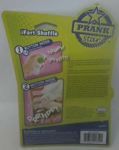 Prank Star Motion Activated iFart Shuffle-15 Fart Sounds!