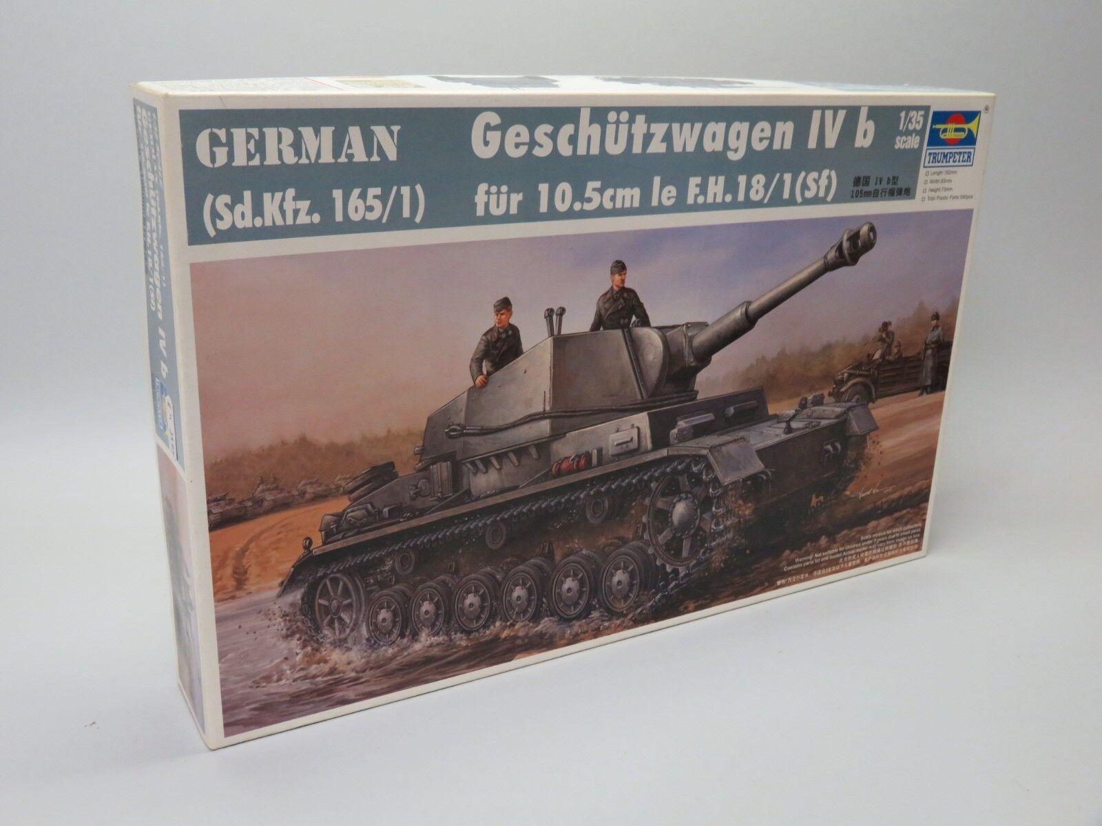 Trumpeter 00374 1 35 - Sd.Kfz.165 1 Geschutzwagen Ivb 105mm FH18 1