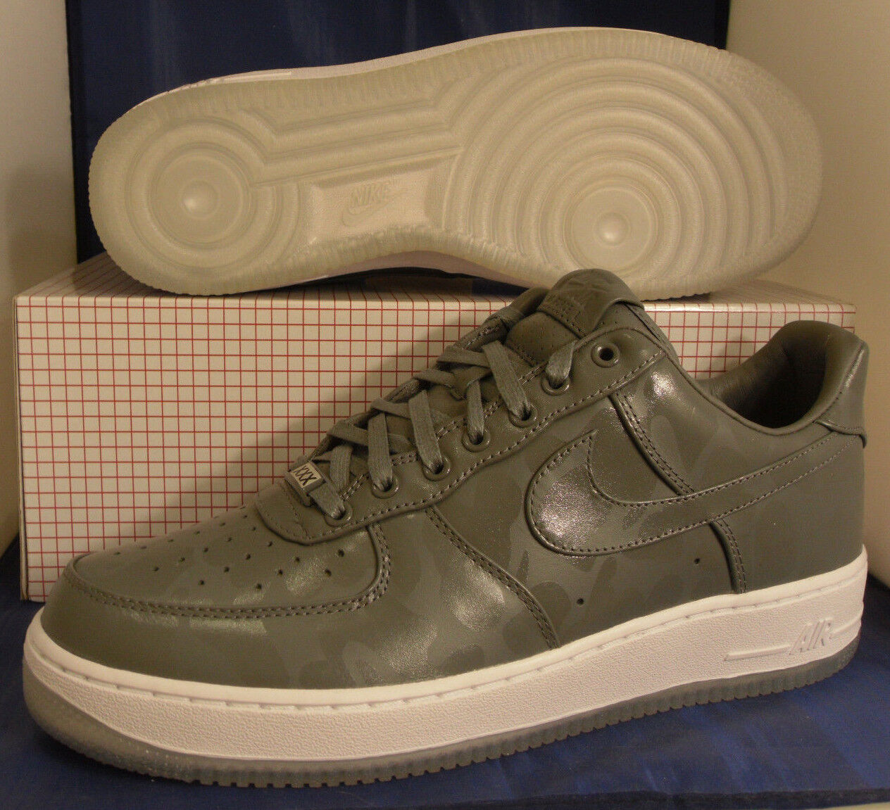 nike air force 1 faible faible faible cmft prime qs cool Gris  acom pmr sz 10.5 (573974-002) 41deed