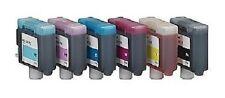 6 x Tinte für Canon ImagePROGRAF W7200 W8200D W8400D / BCI-1411 INK Cartridges