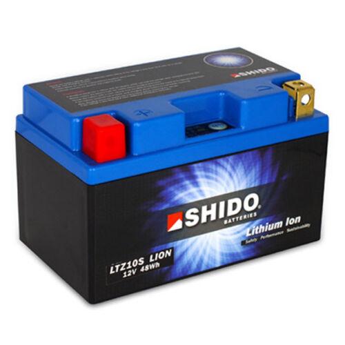 HONDA CBR 1000 RR Fireblade 04/>07 Shido Lithium ION Battery LTZ10S-LION