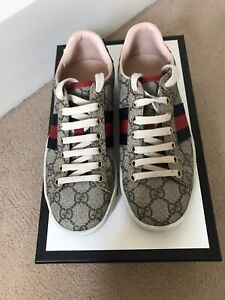Womens Gucci Ace GG Sneaker Trainers