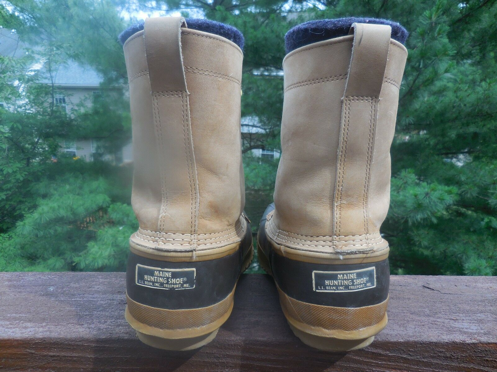 L.L .BEAN MEN'S SIZE 9 REMOVABLE INSULATED SHOE DUCK HUNTING  BOOT/ SHOE INSULATED MADE IN USA b3a9bd