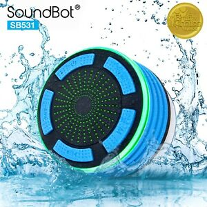 2b98214f336 Image is loading Soundbot-SB531-Bluetooth-FM-Radio-Wireless-Water-Resistant-