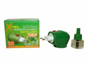 Xpel-Mosquito-amp-Insect-Repellent-Plug-In-x2-TWIN-PACK-Odourless-Natural-Mixture