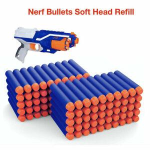 100PCS-Gun-Soft-Refill-Bullets-Darts-Round-Head-Blasters-For-Nerf-N-Strike-Toy