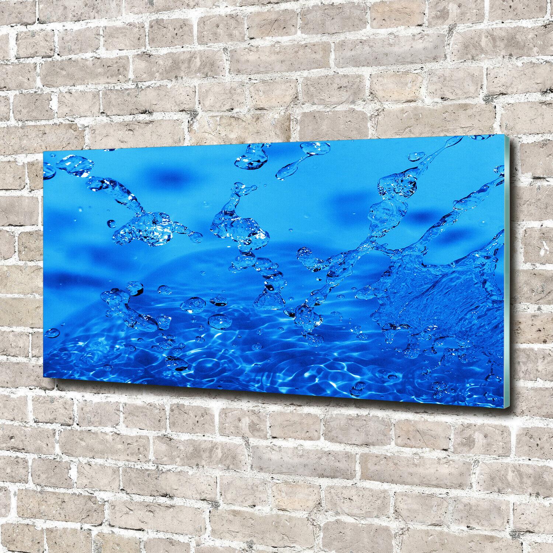 Acrylglas-Bild Wandbilder Druck 140x70 Deko Sonstige Wassertropfen