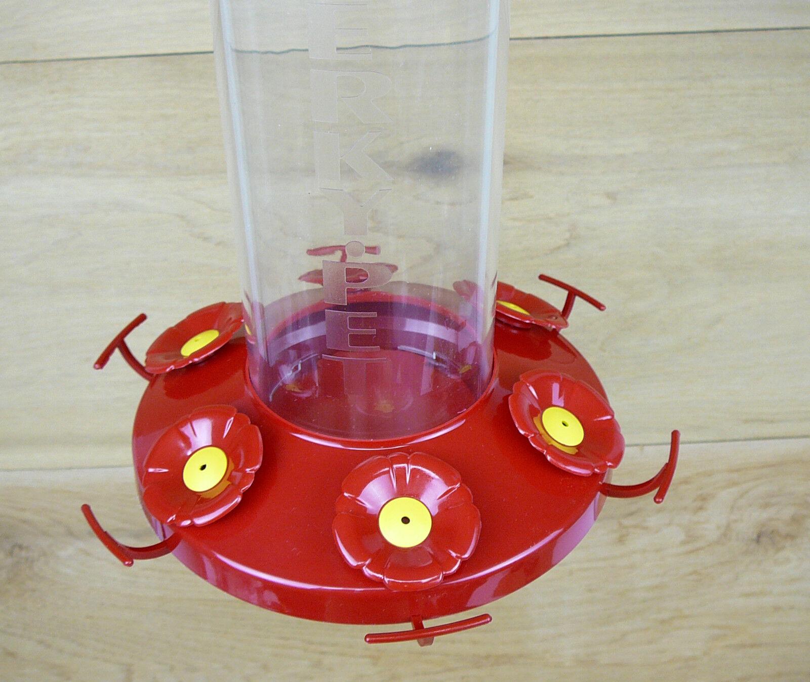 Perky Pet Grand Master 48oz Hummingbird Feeder 6 Feeding Ports w// Perches #220