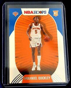 Immanuel Quickley RC Rookie 2020-21 Panini NBA Hoops New York Knicks #249 Card